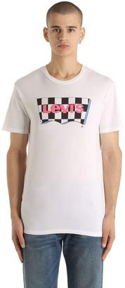 Levi's Fashion Logo Print Cotton Jersey T-Shirt