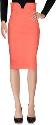 Elisabetta Franchi Knee length skirts - Item 35371500IE
