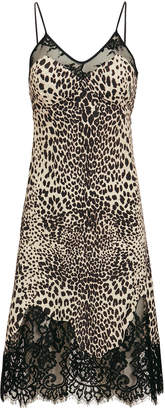 McQ Leopard Slip Dress