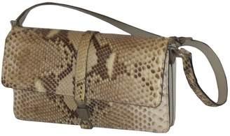 Python print Leather Handbag