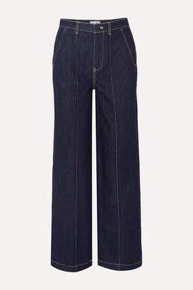Alex Mill Jane Mid-rise Straight-leg Jeans - Dark denim