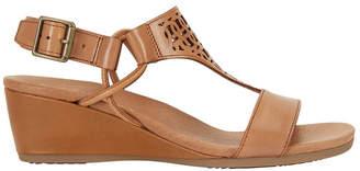 Wide Steps Magnet Cognac Glove Sandal