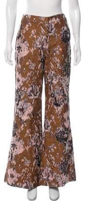 Petersyn Patterned Flare Pants