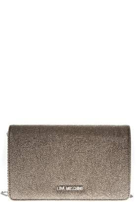 Love Moschino Pewter Color Shoulder Bag