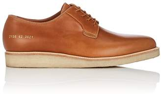 Common Projects Men's Wedge-Sole Leather Bluchers