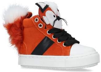 Kurt Geiger London Fantastic Fox High-Top Sneakers