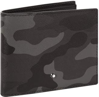 Montblanc Bifold Leather Camouflage Wallet