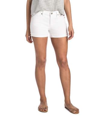 Vineyard Vines White Raw Cuffed Shorts