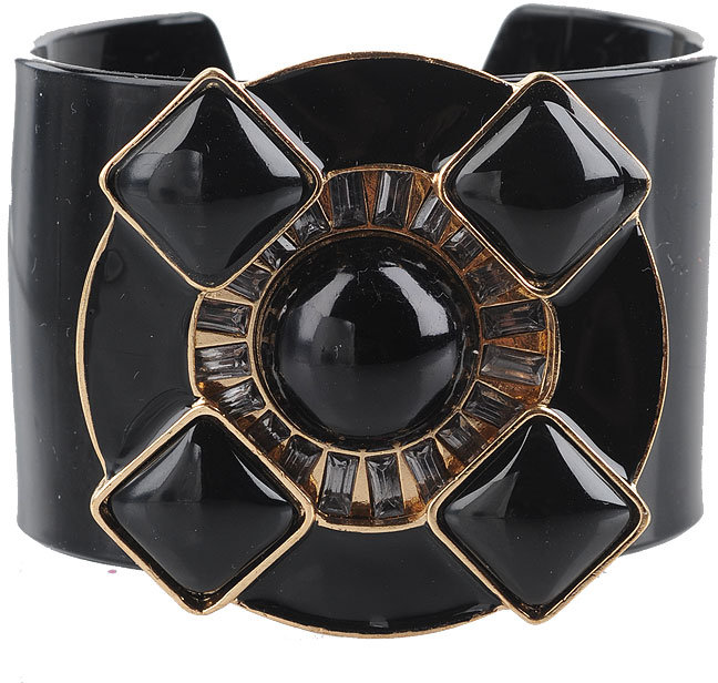 Lacquered Accent Cuff