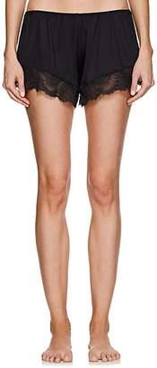 Hanro Women's Laila Lace-Trimmed Shorts - Black
