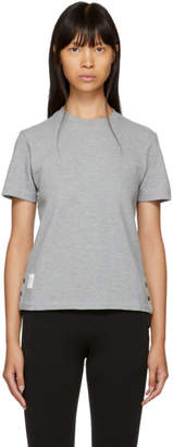 Thom Browne Grey Classic Pique Relaxed T-Shirt