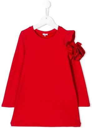 Piccola Ludo embellished sleeve dress