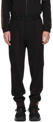 Fendi Black Jogger Sweatpants