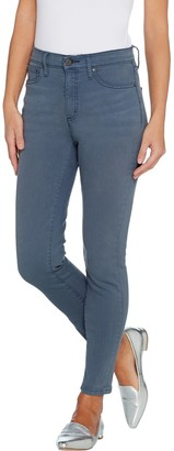 Halston H By H by Premier Denim Petite Ankle Length Skinny Jeans