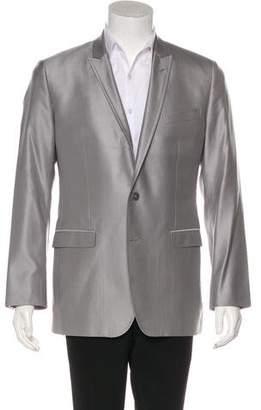 Dolce & Gabbana Woven Metallic Blazer