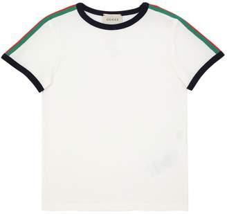 Gucci Snake Print Cotton Jersey T-Shirt
