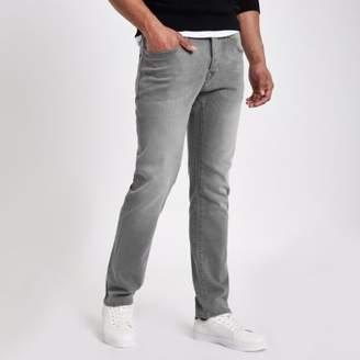 River Island Grey wash Dylan slim fit jeans