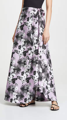 Viva Aviva Kawai Tropical Wrap Skirt