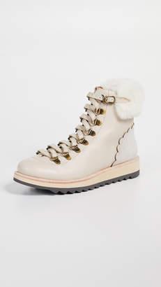 Kate Spade Maira Combat Boots