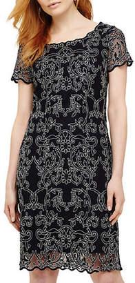 Phase Eight Tatiana Embroidered Lace Shift Dress