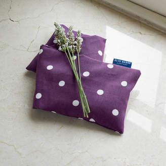Blue Badge Co Microwavable Lavender Wheat Warmer In Purple Polka Dot