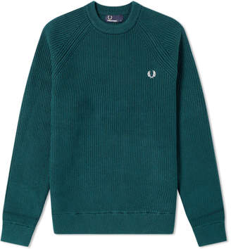 Fred Perry Authentic Ribbed Crew Knit
