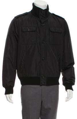 Prada Bomber Zip-Up Jacket