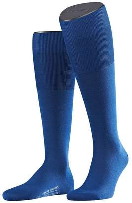 Falke Mens Airport Knee High Socks - Royal - Medium