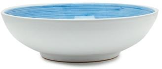 Summerill & Bishop - Brushed Ceramic Serving Bowl - Light Blue