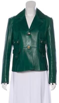 Valentino Studded Leather Jacket Studded Leather Jacket