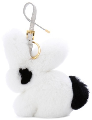 pradaPrada Fur Bag Charm