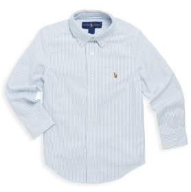 Ralph Lauren Little Boy's& Boy's Oxford Cotton Button-Down Sport Shirt