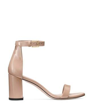 f04b98659 Stuart Weitzman Beige Leather Sole Women s Sandals - ShopStyle