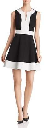 Kate Spade Color-Block Ponte Dress