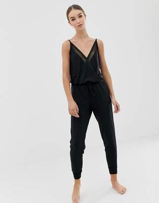 Calvin Klein sleeveless lounge jumpsuit