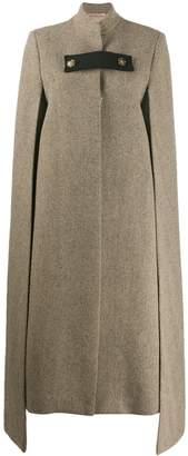 Ssheena wool cape coat