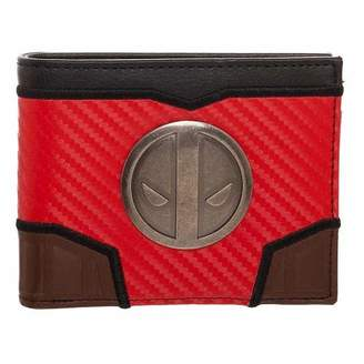 Bioworld Deadpool Carbon Fiber Metal Bi-Fold Wallet