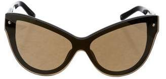 3.1 Phillip Lim Reflective Cat-Eye Sunglasses
