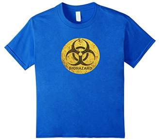 Biohazard Rusted Old Warning Signs T-shirt