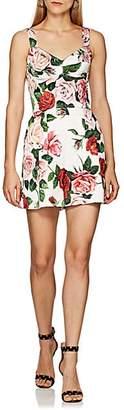 Dolce & Gabbana Women's Floral-Print Romper - White
