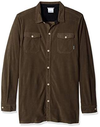 Columbia Men's Forest Park Big and Tall Overshirt