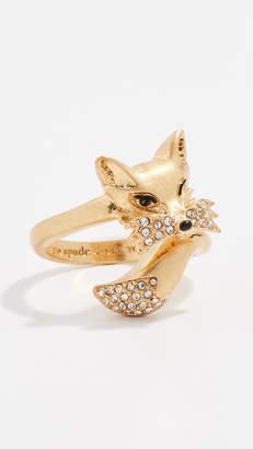 Kate Spade So Foxy Fox Ring