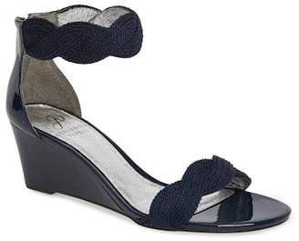 Adrianna Papell ADORE ANKLE STRAP WEDGE SANDAL