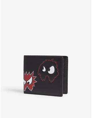 McQ Character leather billfold wallet