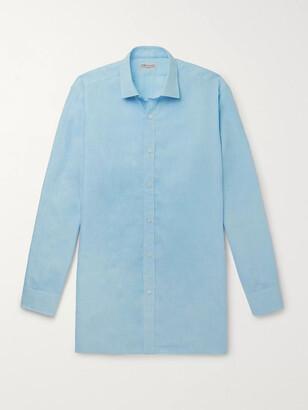 Charvet Melange Slub Linen Shirt