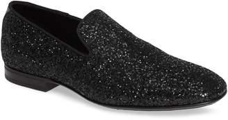 Jimmy Choo Thame Glitter Venetian Loafer