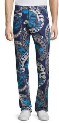 PRPS Regular-Fit Chain-Print Jeans