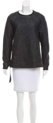 DKNY Mélange Crew Neck Sweatshirt