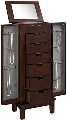FINE JEWELRY Mahogany Jewelry Armoire