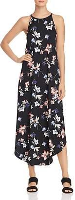 AQUA Floral Print Jersey Maxi Dress - 100% Exclusive